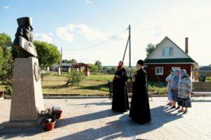 Епископ Владимир с рабочим визитом посетил храм Преображения Господня с. Батурино