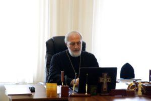 Епископ Владимир принял участие в Архиерейском совете Курганской митрополии