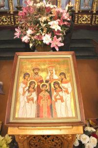 В Успенском монастыре почтили память святых Царственных страстотерпцев