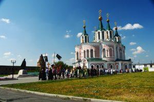 Праздничное богослужение в день памяти преставления преподобного Далмата Исетского совершили в Успенском Далматовском мужском монастыре