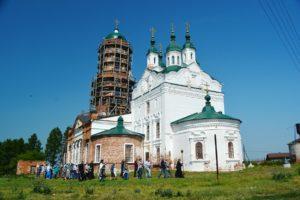 Престольный праздник отметили в храме в честь Иоанна Предтечи с. Широковское Далматовского района