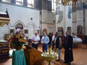 Губернатор Курганской области Вадим Шумков посетил Успенский Далматовский мужской монастырь