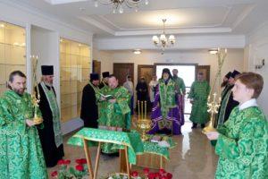 Владыка Владимир освятил здание Духовно-просветительского центра Шадринской епархии