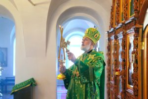 Божественная литургия г. Шадринск. 08.07. 2020 г.