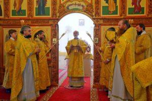 Престольный праздник кафедрального храма святителя Николая г. Шадринск. 07.07.2020 г.