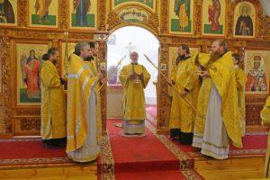 Божественная литургия г. Шадринск. 26.07.2020 г.