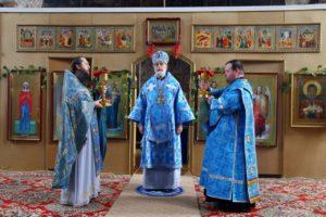 Божественная литургия с. Глубокое. 06.07.2020 г.