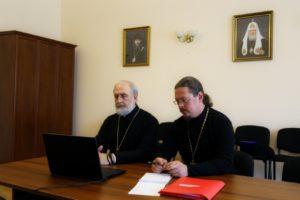 Управляющий Шадринской епархией по видео-конференц связи принял участие в селекторном совещании