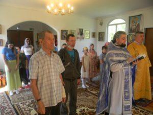 В храме в честь Вознесения Господня села Ключи Шадринского района состоялся молебен на начало учебного года