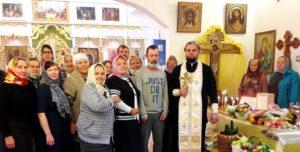 В храме в честь Вознесения Господня села Ключи Шадринского района освятили плоды нового урожая