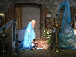 В храме в честь Владимирской иконы Божией Матери села Глубокое Шадринского района прошел престольный праздник