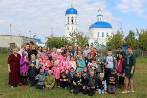 В воскресной школе при храме в честь святых апостолов Петра и Павла города Куртамыша начался новый учебный год