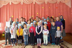 В воскресной школе Успенского Далматовского монастыря «Свеча» начался учебный год