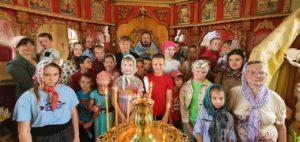 В храме Успения Пресвятой Богородицы города Шумихи отслужили молебен на начало учения отроков