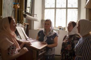 Певчие Воскресенского храма