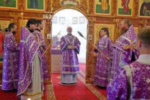 Божественная литургия г. Шадринск. 27.09.2020 г.
