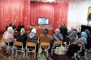 В воскресной школе «Свеча» насельники Далматовского монастыря поделились впечатлениями от паломнической поездки по святым местам центральной части России