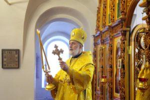 Божественная литургия г. Шадринск. 09.10.2020 г.