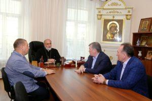 Епископ Владимир встретился с депутатами Курганской областной Думы