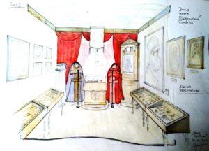 Начаты работы по изготовлению витрин и другого внутреннего убранства для епархиального музея Шадринской епархии