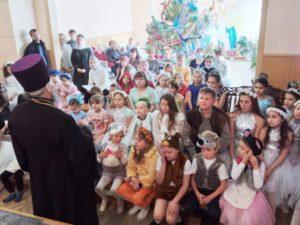 Празднование Рождества Христова в приходе Петропавловского храма города Куртамыша