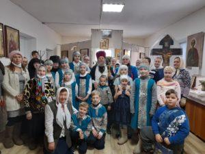 Праздник Рождества Христова в приходе храма в честь Покрова Пресвятой Богородицы р.п. Каргаполье