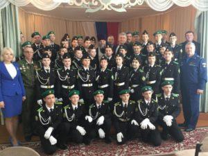 Протоиерей Александр Тимушев поздравил кадетов Губернаторской Куртамышской школы-интерната с принятием присяги