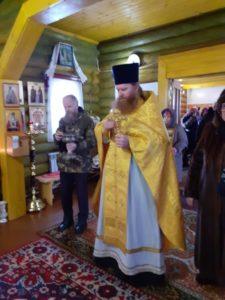 Божественная литургия в Покровском храме с. Песчано-Коледино в день памяти Трех Святителей