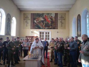 В храме во Имя Святой Троицы поселка Мишкино почтили память воинов-интернационалистов