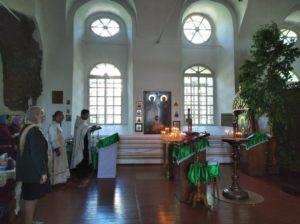 Панихида по великому поэту в Спасо-Преображенском соборе