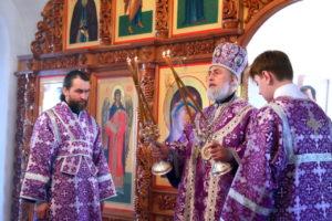 Божественная литургия г. Шадринск. 28.03.2021 г.