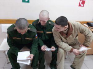 Троицкий приход п. Мишкино провел акцию «Письмо солдату»