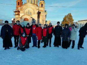 Волонтеры — медики посетили Свято-Введенский женский монастырь