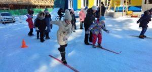 Воспитанники воскресной школы при Петропавловском храме г. Куртамыша провели воскресный день на лыжной базе
