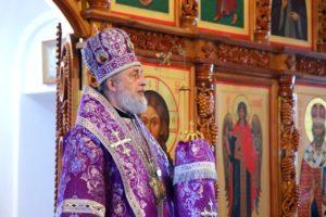 Божественная литургия г. Шадринск. 21.03.2021 г.