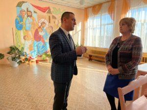 Воскресную школу при Петропавловском храме Куртамыша посетил Александр Ильтяков
