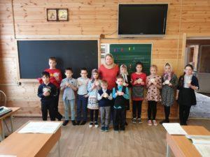Занятия и подготовка к пасхальным торжествам в воскресной школе «Свечечка»