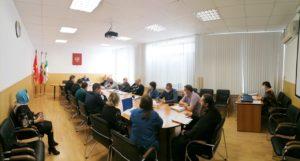 Наместник Успенского Далматовского монастыря принял участие в заседании Общественной палаты Далматовского района