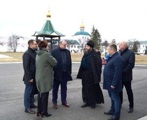 Далматовскую обитель посетили члены Совета Федерации Федерального Собрания Российской Федерации