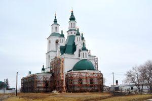 Древлехранитель епархии игумен Варнава (Аверьянов) совершил рабочую поездку в с. Карачельское для решения вопросов по реставрации Трехсвятительского храма