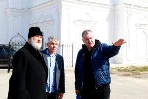 Епископ Владимир встретился с руководством ООО «СтройГазСервис»