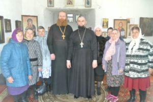 Благочинный Северного церковного округа посетил восстанавливающийся храм д. Дрянново Шадринского района