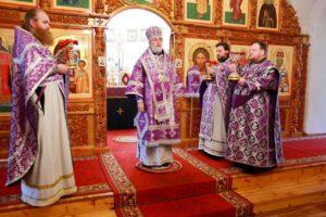 Божественная литургия Василия Великого г. Шадринск. 29.04.2021 г.