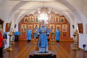 Божественная литургия г. Шадринск. 17. 04.2021 г.