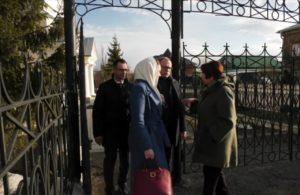 Члены Совета Федерации Федерального Собрания РФ посетили собор в честь Преображения Господня г. Шадринска