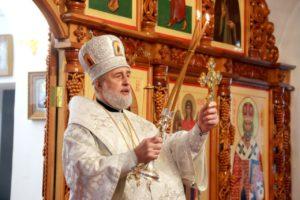 Божественная литургия в Лазареву субботу г. Шадринск. 24.04.2021 г.
