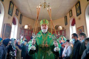 Божественная литургия в праздник Входа Господня в Иерусалим г. Шумиха . 25.04.2021 г.