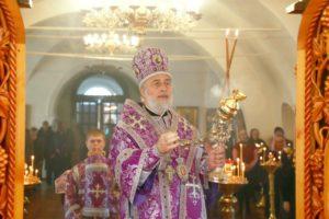 Божественная литургия г. Шадринск 18.04.2021 г.