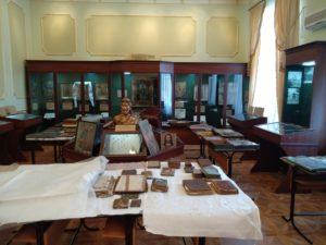 Древлехранитель епархии игумен Варнава (Аверьянов) посетил музей при Екатеринодарской семинарии