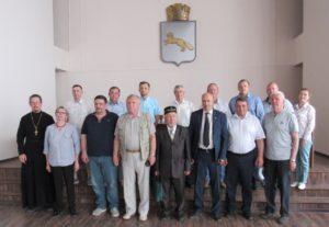 Секретарь Шадринской епархии принял участие в заседании Общественной палаты